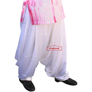 Satin Patiala Salwar with customized stitching from patiala city !!