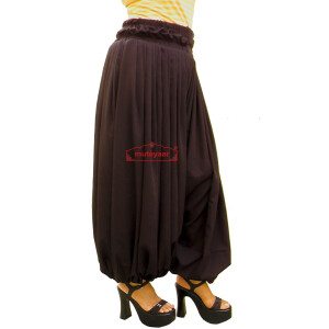 Harem Pants Afghani Shalwar Belly Dance Baggy Bottom