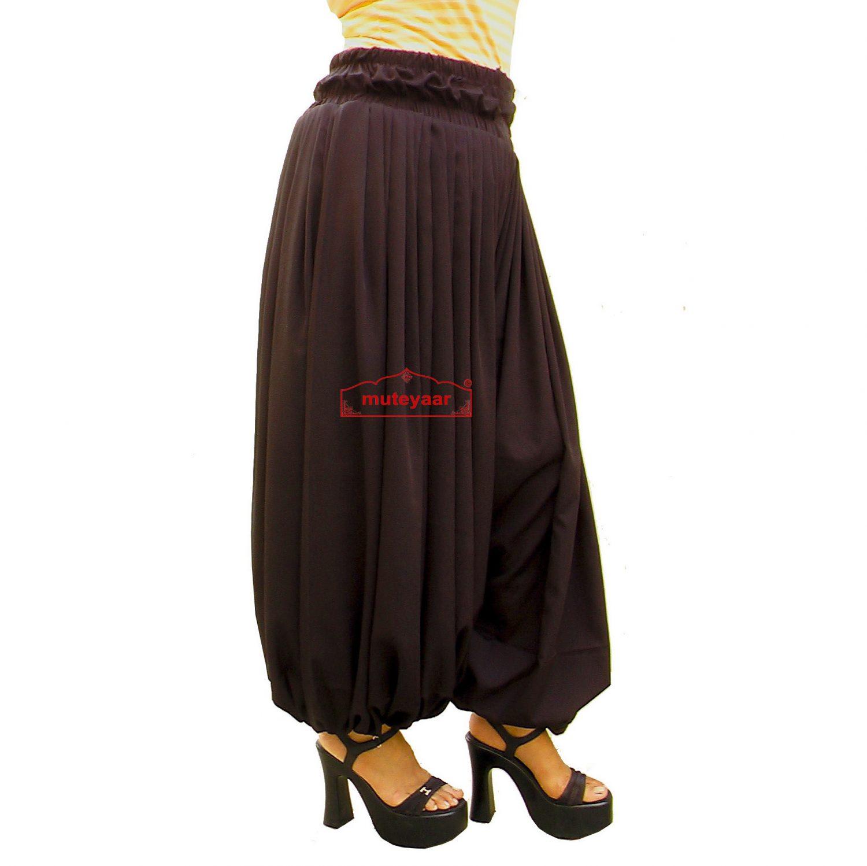 Harem Pants Afghani Shalwar Belly Dance Baggy Bottom 1
