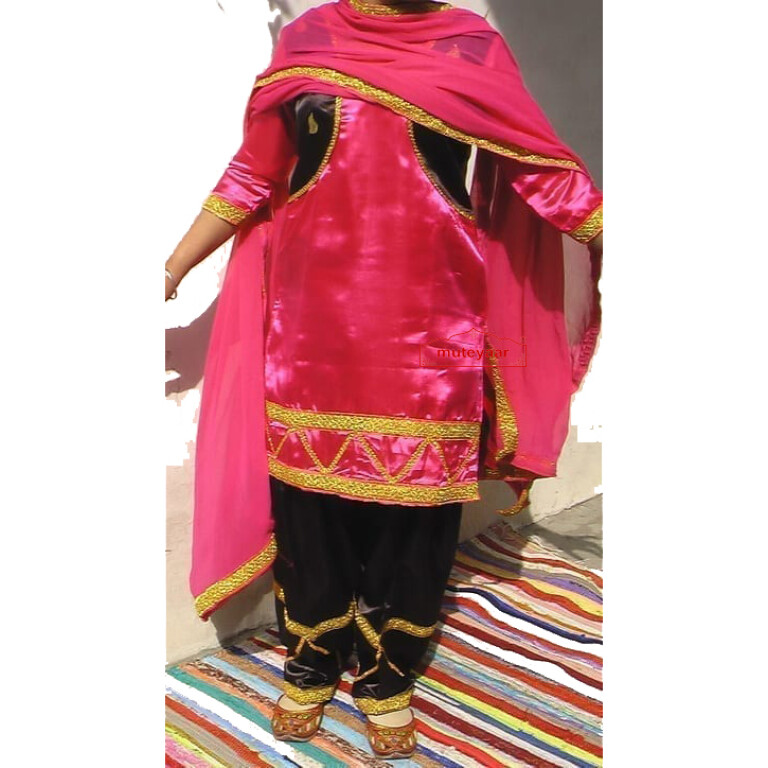 Girl's Bhangra Costume outfit dance dress ready to wear