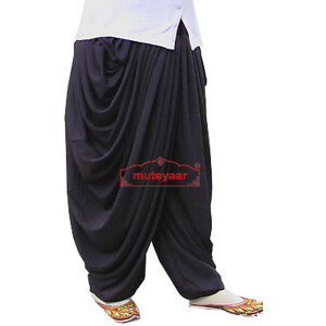 Crepe Dhoti Salwar custom made Baggy Pants as per your choice !!
