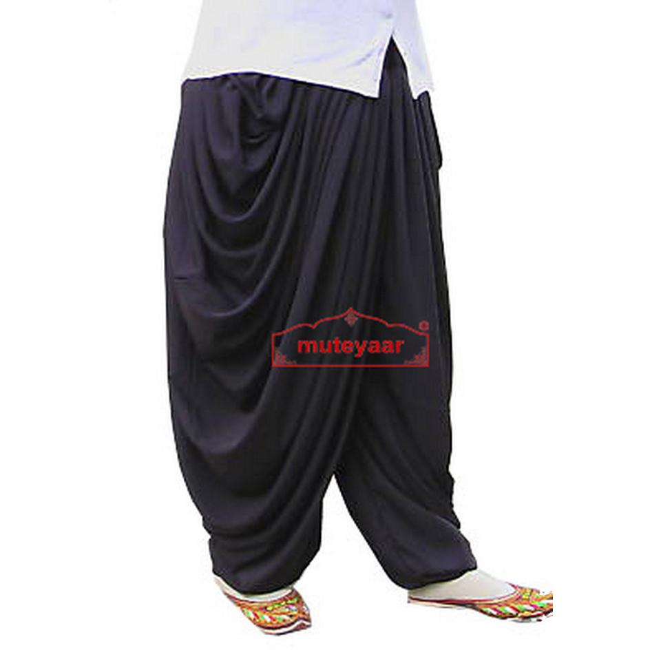 Crepe Dhoti Salwar custom made Baggy Pants as per your choice !! 1