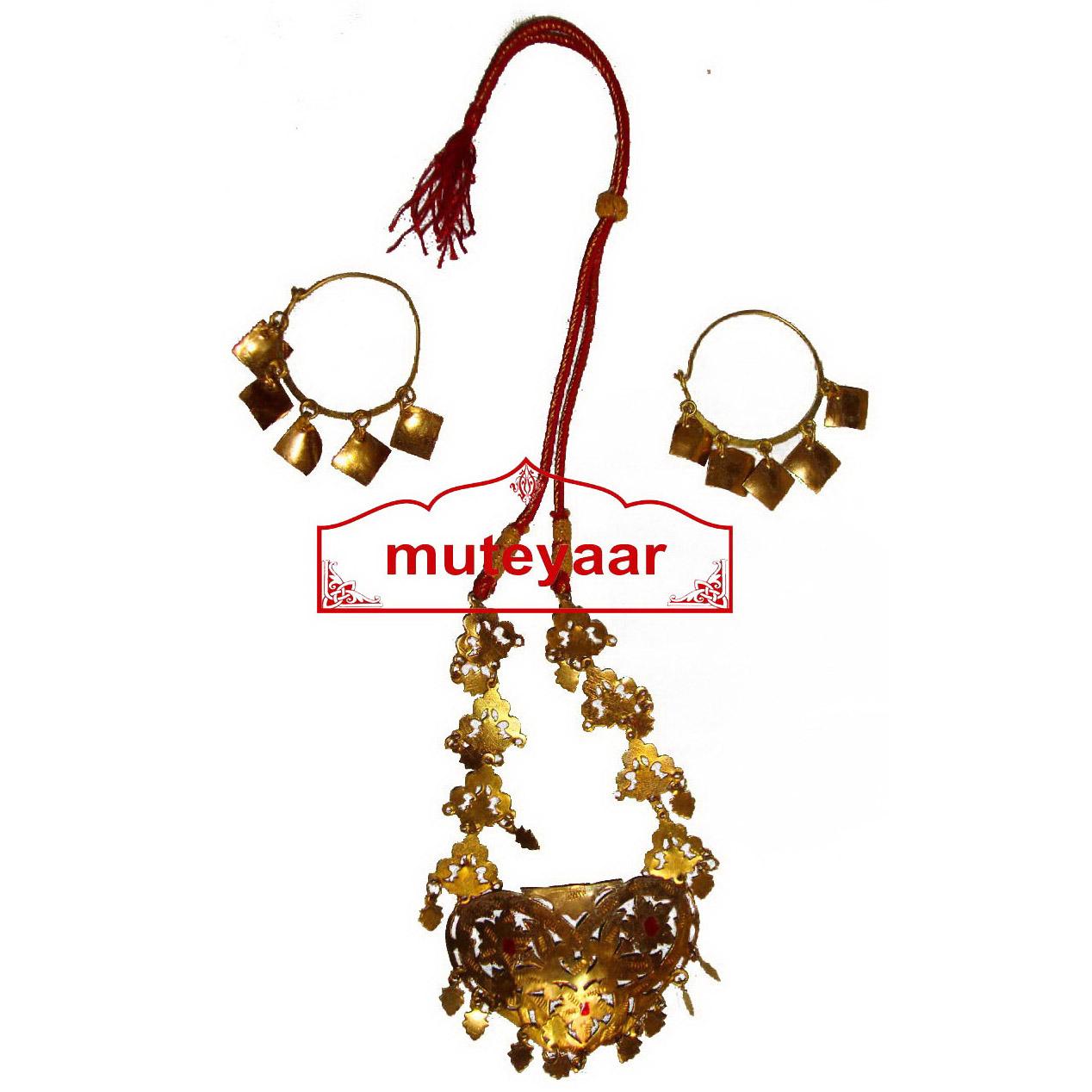 Ranihaar Bhangra Giddha Jewelery set of Neclace + Earrrings 1