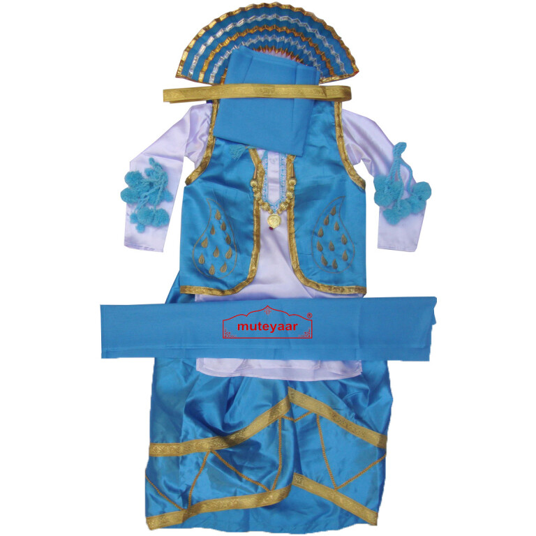 Custom Stitched Bhangra Costume Dance Dress Outfit Vardi