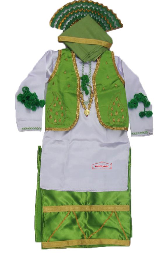 Custom Stitched Bhangra Costume Dance Dress Outfit Vardi 4