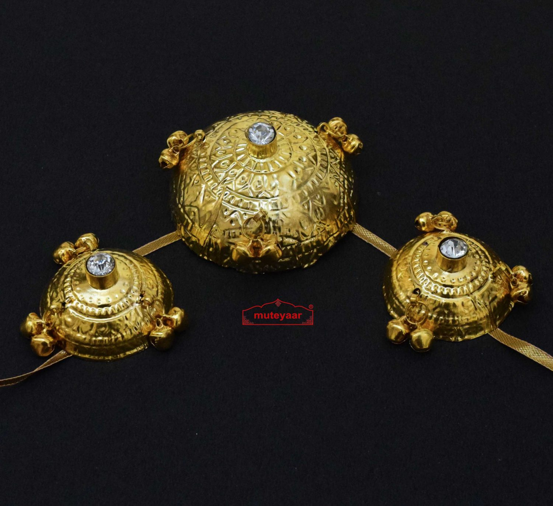 Saggi Phull - Gold Plated Giddha Jewellery 1