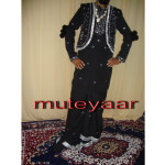 Black Mirrors work Bhangra dress outfit costume