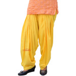 Punjabi Salwar with Customized Stitching