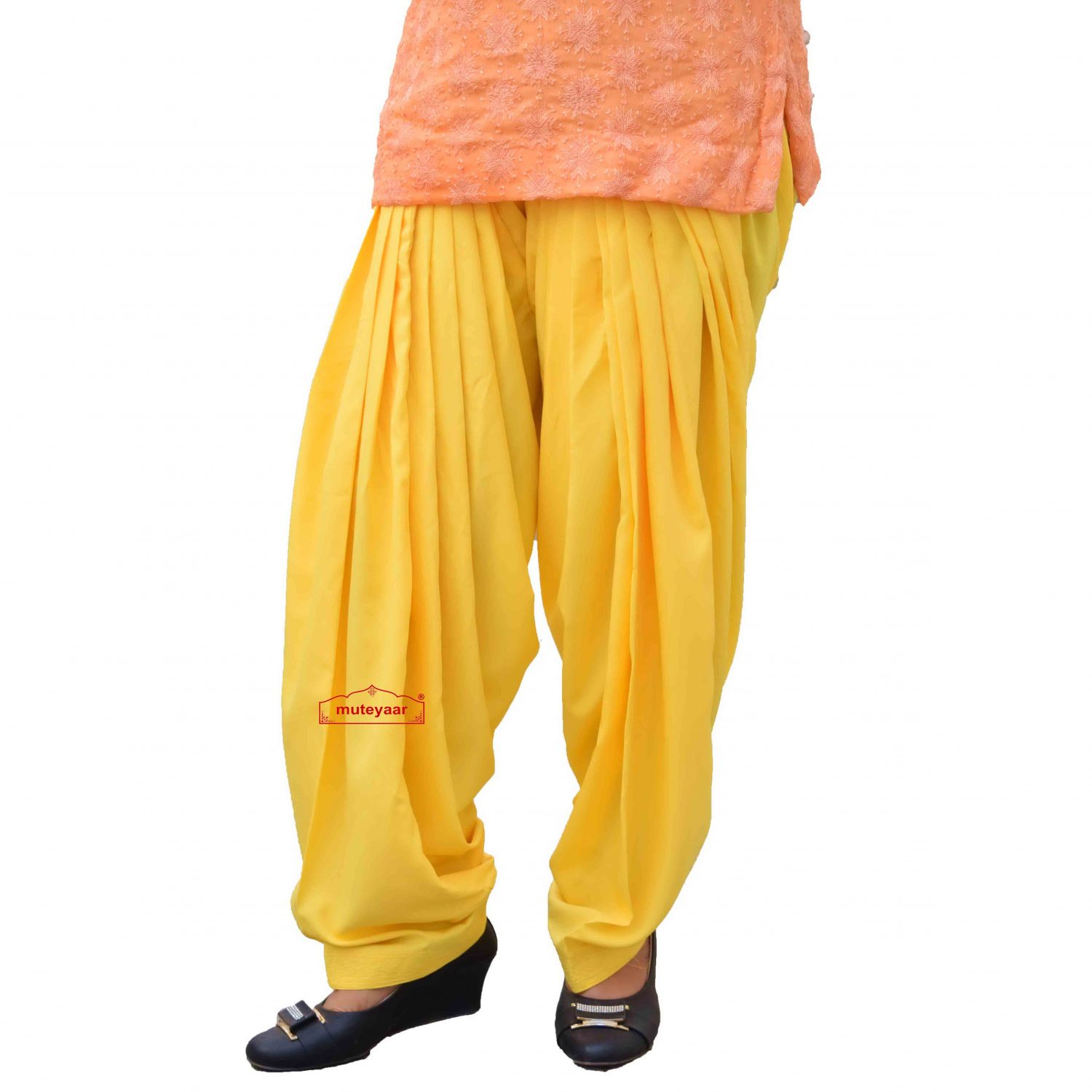 Punjabi Salwar with Customized Stitching 2