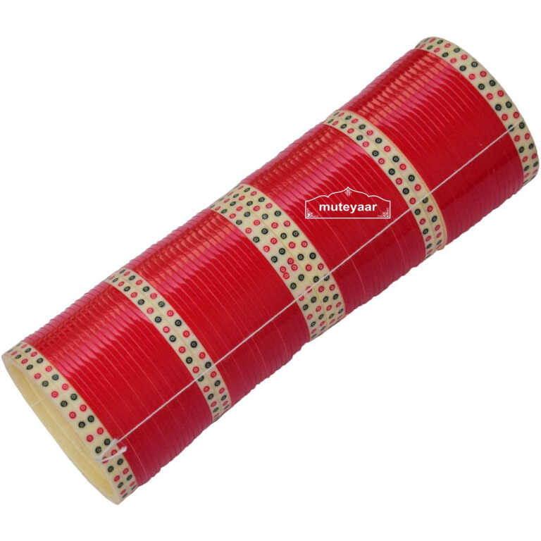 Red Traditional chura for wedding CH001
