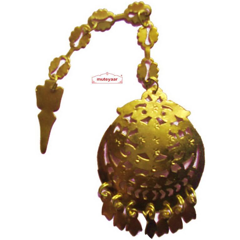 Golden Tikka Tika jewellery for giddha bhangra