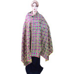 Phulkari Hand Embroidered multicolor bagh dupatta D0719
