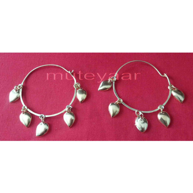 Pipal Patti Handicraft jewelery earrings set for giddha bhangra