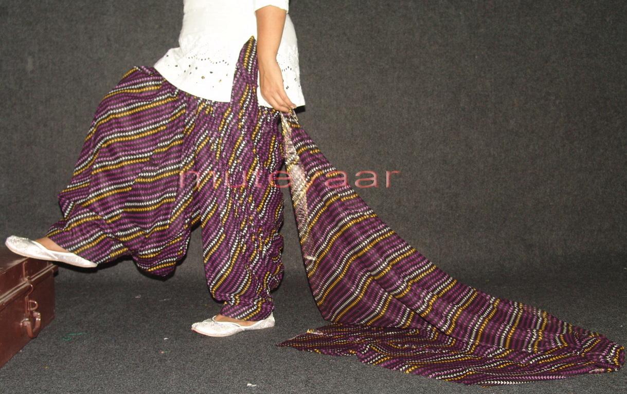 100% Pure Cotton FULL Patiala Salwar + matching dupatta PSD96 1
