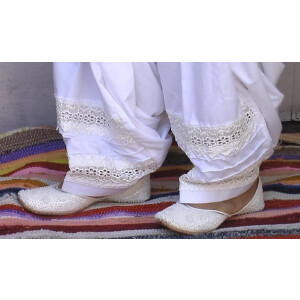Patiala Salwar with Broad Lace – direct from Patiala City !!