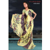 Printed party wear beautiful georgette Saree DN2032