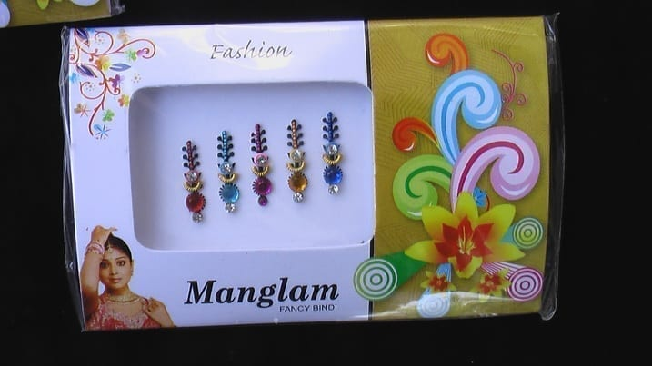 Bindi Wholesale Lot of 30 packs Head Tattoo Multicolour Assorted Designs 3