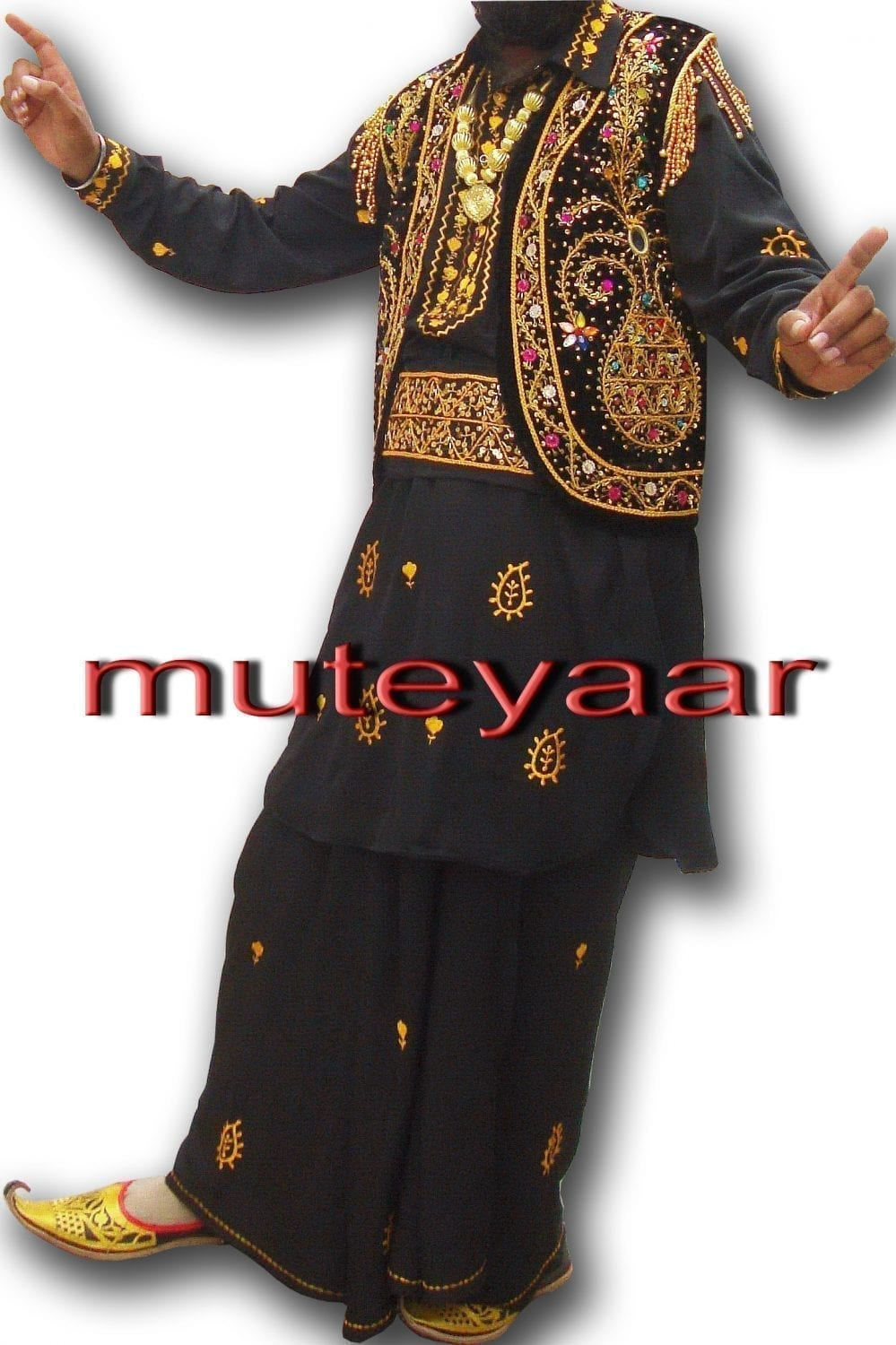 Punjabi Bhangra dance Costume / outfit - ready to wear 1