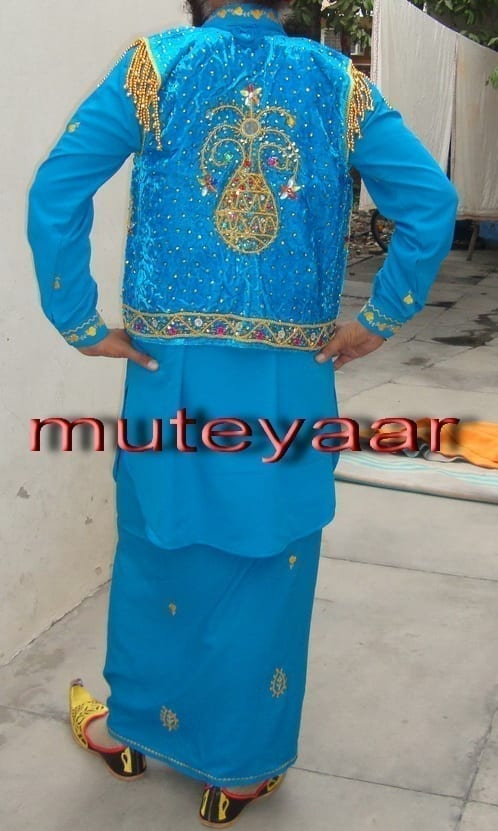 Punjabi Bhangra dance Costume / outfit - ready to wear 3