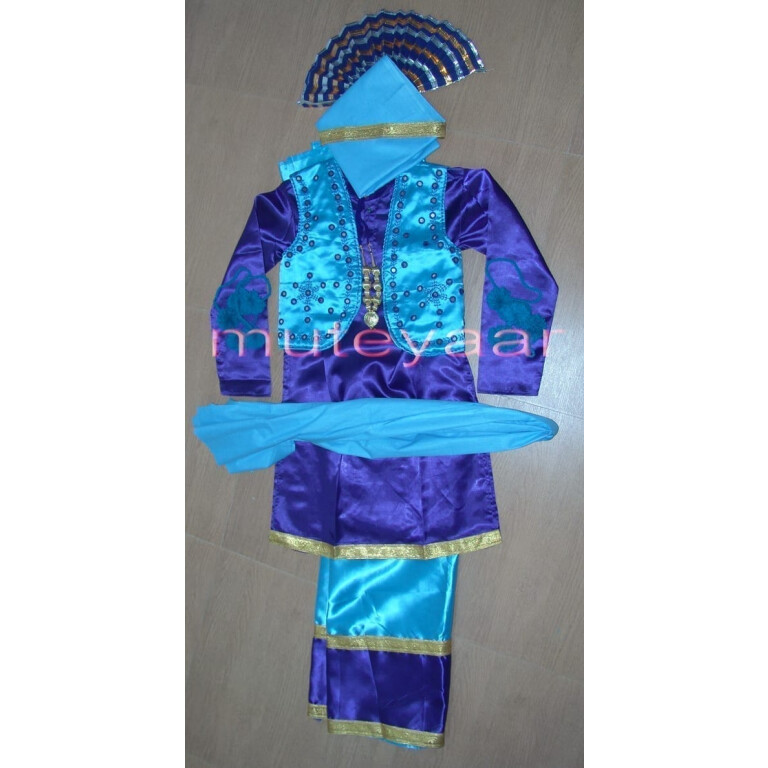 Custom made Bhangra costume dance dress in all colours sizes !!