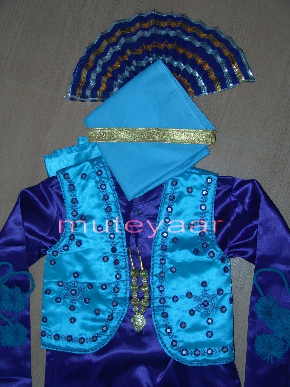 Custom made Bhangra costume dance dress in all colours sizes !! 2