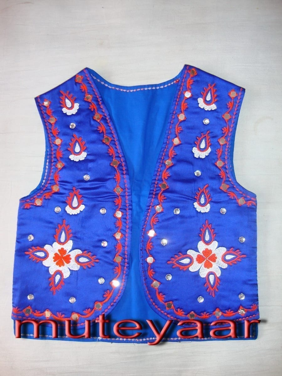 embroidered Bhangra dance Costume / outfit dress- ready to wear 2