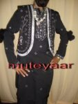 Black Mirrors work Bhangra dance dress outfit costume