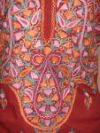 Neck jaal Embroidered Kashmiri COTTON Salwar Kameez fabric C0251