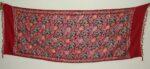 Kashmiri Pashmina Heavy JAAL Embroidered stole wrap C0298