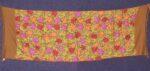 Pure Pashmina Kashmiri multicolor HEAVY JAAL embroidered woollen stole C0428