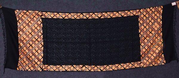 PURE Pashmina Kashmiri Phulkari embroidered woollen stole C0496