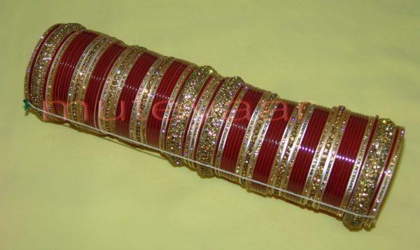 Custom made Antique Bridal Chura for the Punjabi Bride CH002