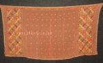 PURE CHINON hand embroidered Phulkari Dupatta Chunni D0707