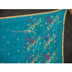 PURE CHINON hand embroidered Fulkari Dupatta Chunni D0708