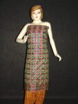 Phulkari Bagh Hand Embroidered multicolor dupatta D0719