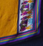 Designer COTTON SILK Multicolor Partywear Dupatta Chunni D0733