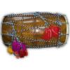DHOL - Red Tahli / Sheesham hard wood BHANGRA prop  with Packing Bag !!