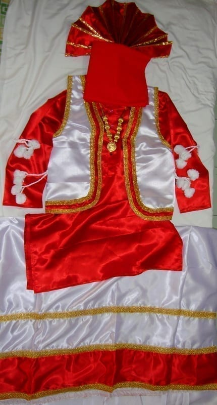 Bhangra dance Costume / outfit dress- ready to wear 1