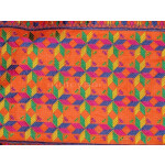 Cotton M/C EMBR. PHULKARI suit PURE CHINON DUPATTA  F0640