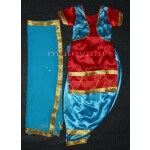 Firozi Red Girl's Bhangra Costume outfit dance dress suit