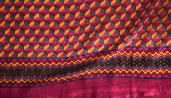 GEORGETTE PRINTED fabric for Kurti, Saree, Salwar, Dupatta (per meter price)  GF014