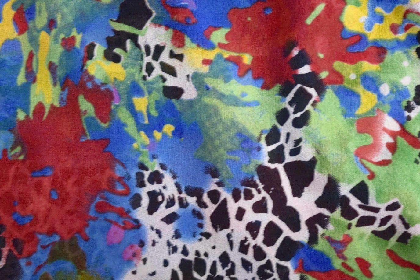 GEORGETTE PRINTED fabric for Kurti, Saree, Salwar, Dupatta GF021 1