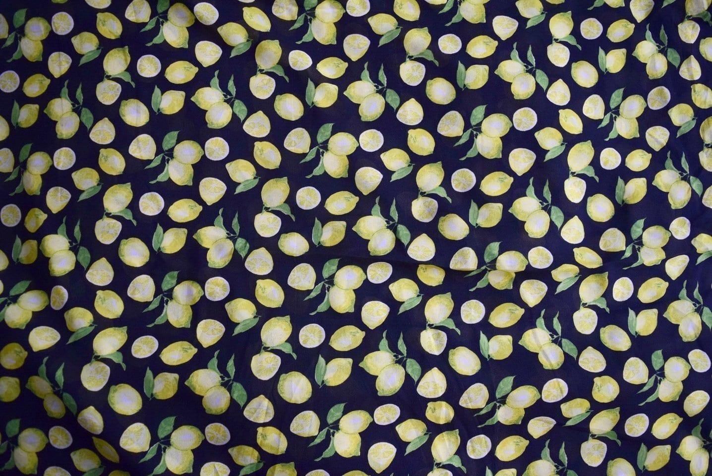 GEORGETTE PRINTED fabric for Kurti, Saree, Salwar, Dupatta GF031 2