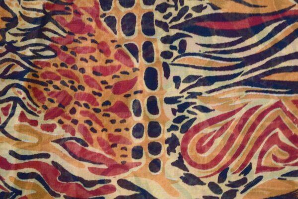 GEORGETTE PRINTED fabric for Kurti, Saree, Salwar, Dupatta (per meter price)  GF034