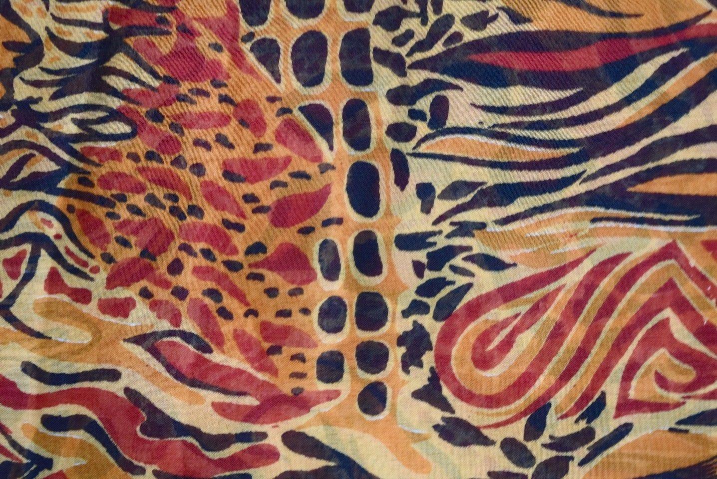 GEORGETTE PRINTED fabric for Kurti, Saree, Salwar, Dupatta GF034 1