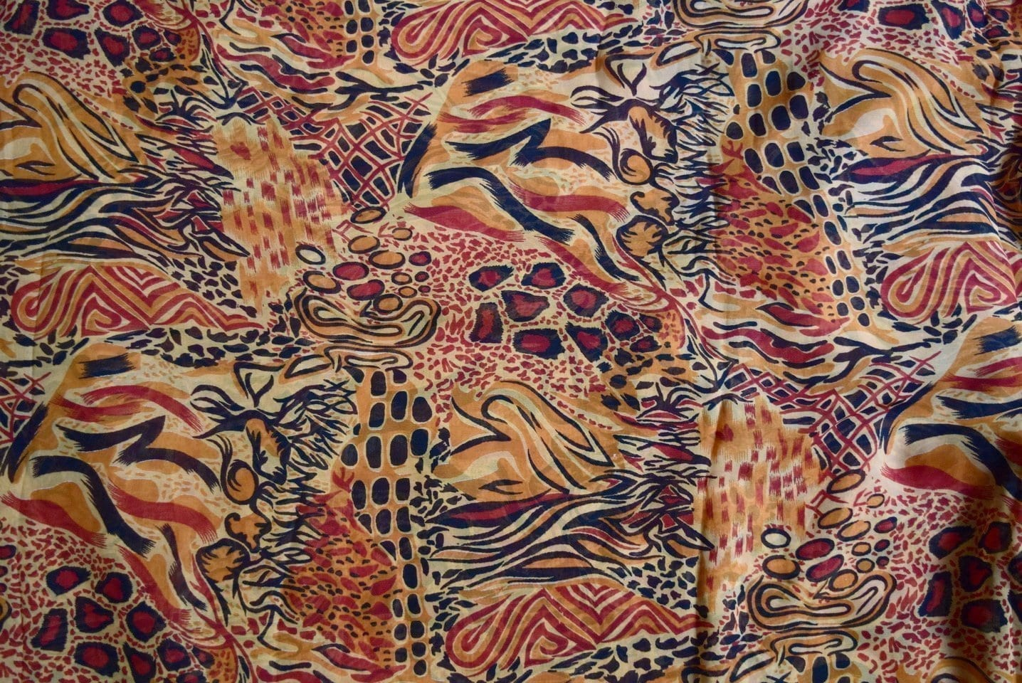 GEORGETTE PRINTED fabric for Kurti, Saree, Salwar, Dupatta GF034 2