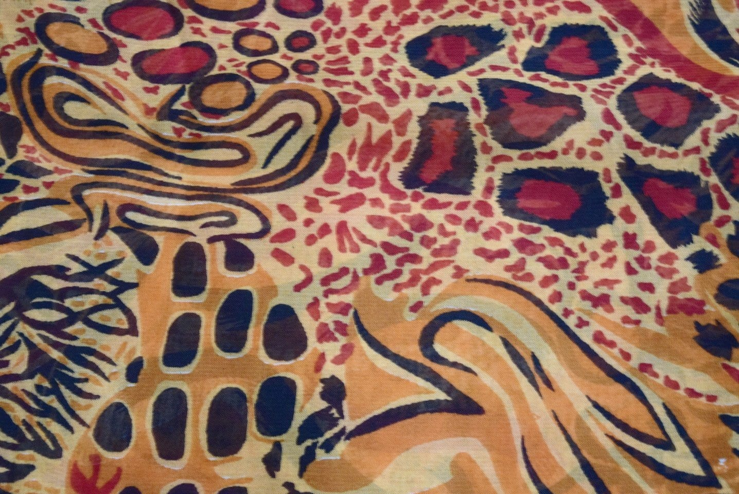 GEORGETTE PRINTED fabric for Kurti, Saree, Salwar, Dupatta GF034 3