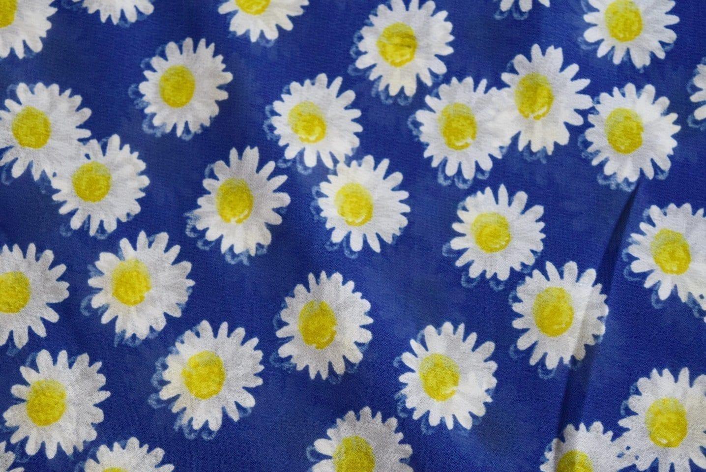 GEORGETTE PRINTED fabric for Kurti, Saree, Salwar, Dupatta GF036 1