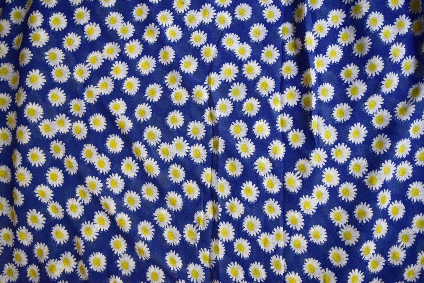 GEORGETTE PRINTED fabric for Kurti, Saree, Salwar, Dupatta GF036 2