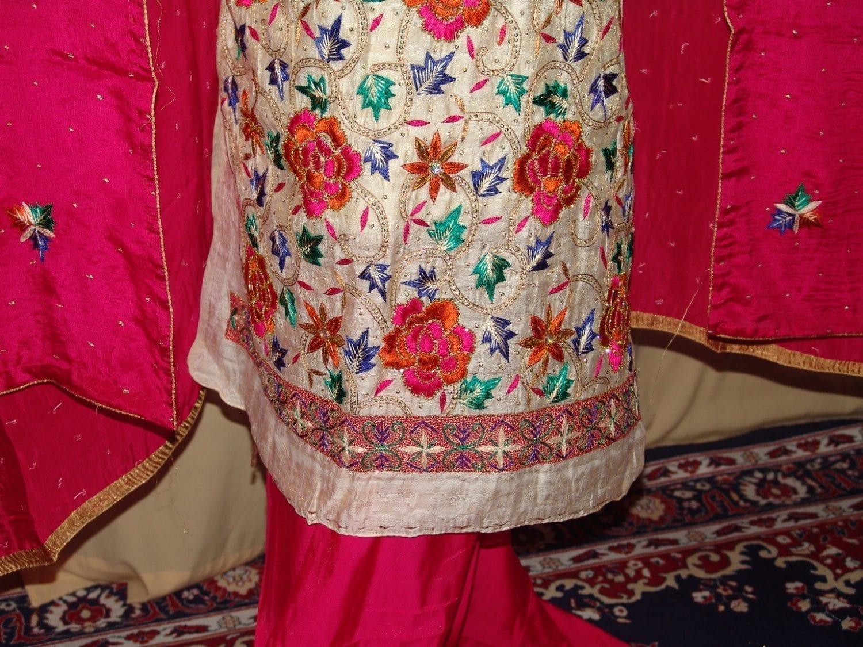 TissueCotton/Makhmali Suit pure chinon dupatta JAAL EMBR. H0067 2